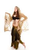 Bailarín joven en traje hada-inspirado fotografía de archivo