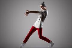 Bailarín joven hermoso Imágenes de archivo libres de regalías