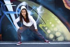 Bailarín joven Hip-Hop Fotografía de archivo