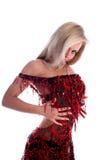 Bailarín latino rubio Imagenes de archivo