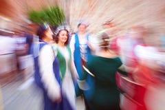 Bailarín medieval Imagen del color Imagen de archivo libre de regalías