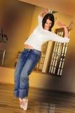 Bailarín moderno #2 Imágenes de archivo libres de regalías