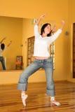 Bailarín moderno #9 Fotos de archivo libres de regalías