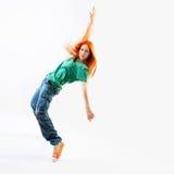 Bailarín moderno de la hembra del estilo Fotos de archivo libres de regalías