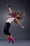 Bailarín moderno del estilo Imagen de archivo