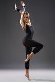 Bailarín moderno del estilo Fotografía de archivo libre de regalías