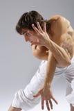 Bailarín moderno del estilo Fotos de archivo