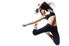 Bailarín moderno del estilo Imagenes de archivo