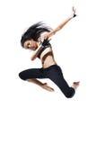 Bailarín moderno del estilo Fotografía de archivo