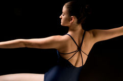 Bailarín moderno joven Imagen de archivo libre de regalías