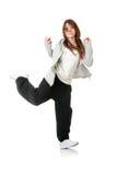 Bailarín moderno joven Imágenes de archivo libres de regalías