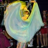Bailarín oriental Foto de archivo libre de regalías