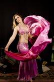 Bailarín oriental de la mujer Imagen de archivo libre de regalías