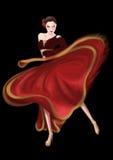 Bailarín Paso Doble de la corrida Imagenes de archivo