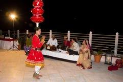 Bailarín popular Imagen de archivo libre de regalías