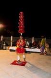 Bailarín popular Imagen de archivo