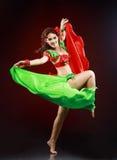 Bailarín profesional Foto de archivo libre de regalías