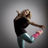 Bailarín sereno Fotos de archivo libres de regalías