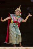 Bailarín tailandés Foto de archivo libre de regalías