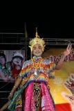 Bailarín tailandés Imagen de archivo libre de regalías