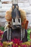 Bailarín tradicional de la máscara en la aldea Malí de Dogon Fotografía de archivo