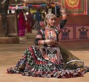 Bailarín tribal fotografía de archivo