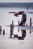 Bailarín tribal Foto de archivo libre de regalías