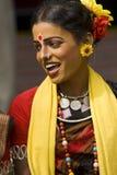 Bailarín tribal adolescente Fotografía de archivo libre de regalías