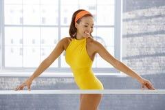Bailarina étnica atrativa imagens de stock royalty free