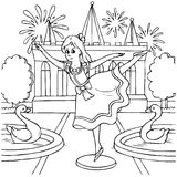 Bailarina Imagen de archivo libre de regalías