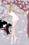 Bailarina Imagens de Stock Royalty Free