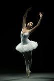 Bailarina-acción foto de archivo libre de regalías