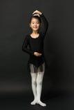 Bailarina asiática de la niña Fotos de archivo