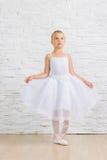 Bailarina bonito pequena ballet imagem de stock royalty free