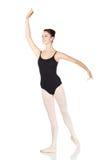 Bailarina caucasiano nova imagem de stock