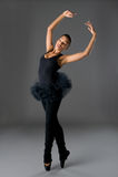 Bailarina clássica imagens de stock
