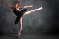 bailarina da primeira demão da mulher foto de stock royalty free