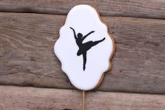 Bailarina das cookies Fotografia de Stock