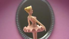 Bailarina de la conclusión almacen de video