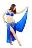 Bailarina de la danza del vientre Fotos de archivo libres de regalías