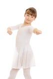 Bailarina de la muchacha Fotografía de archivo