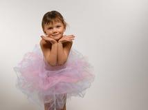 Bailarina de la muchacha Imagen de archivo libre de regalías