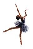 Bailarina de salto Imágenes de archivo libres de regalías