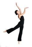 Bailarina de sexo femenino Fotos de archivo