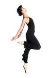 Bailarina de sexo femenino Fotos de archivo libres de regalías