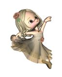 Bailarina de Toon - 3 Fotos de archivo