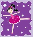 Bailarina del vector Imagen de archivo libre de regalías