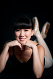 Bailarina fêmea imagem de stock royalty free