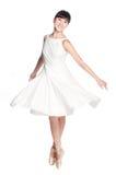Bailarina fêmea Imagem de Stock