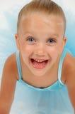Bailarina feliz Imagem de Stock Royalty Free